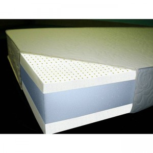 cut away of latex mattresses
