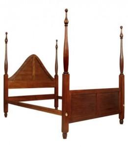 mahogany bed frame