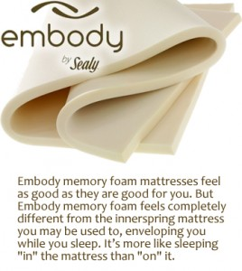 embody by sealy
