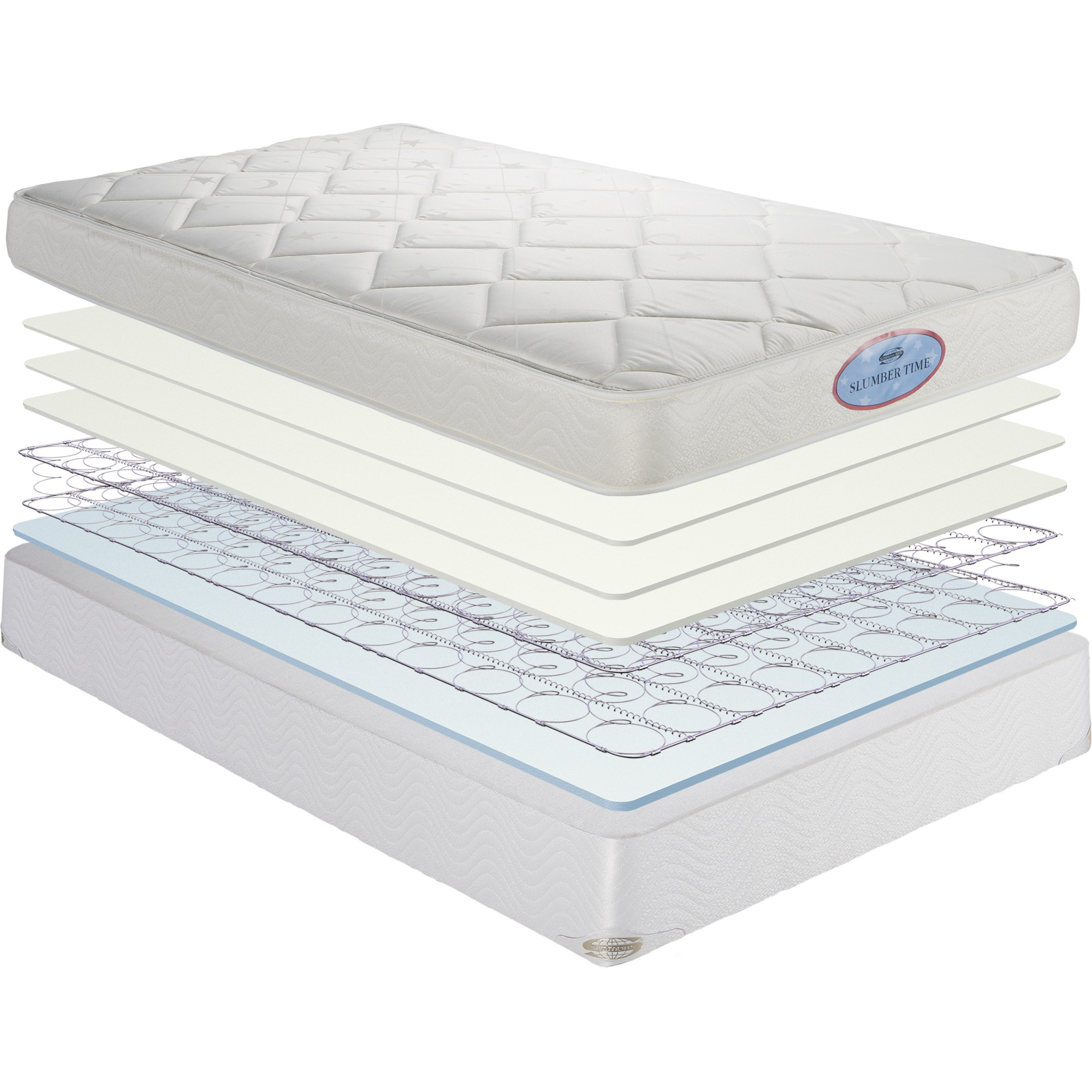 Slumber Time Firm Crib Toddler Mattress