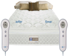 sleep number performance series dual controls