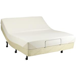 tempur contour queen size on adjustable base
